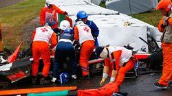 F1日本GP ビアンキ選手が衝突、意識不明の重体【画像】
