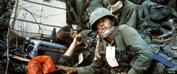 「戦場に行ったこともない奴が語る愛国主義には吐き気がするよ」