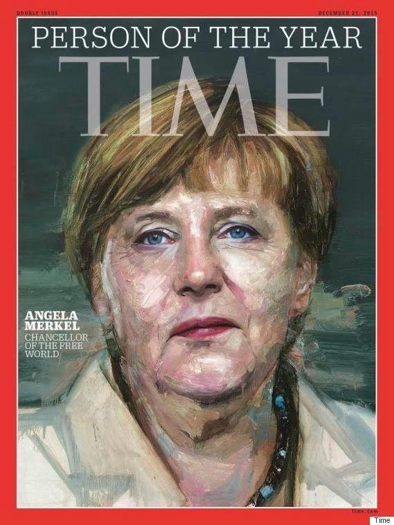 メルケル・ドイツ首相、タイム誌の2015年「今年の人」