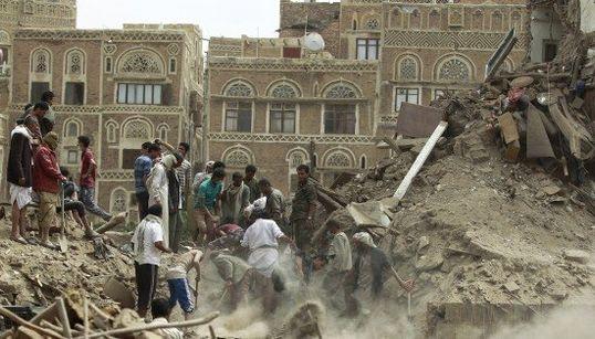 世界遺産のサヌア旧市街を爆撃 サウジアラビア軍など(画像集)