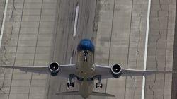 ボーイング787「ドリームライナー」の離陸がほぼ垂直で旅客機離れしている(動画)