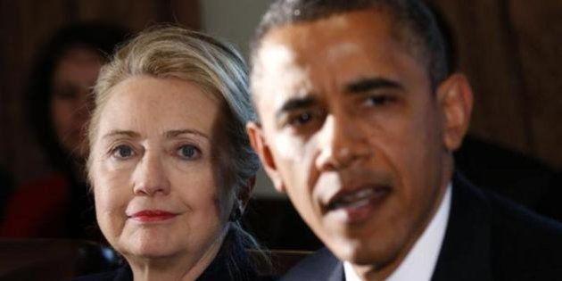 アメリカ人が一番尊敬する人、オバマ大統領とクリントン前国務長官 世論調査で