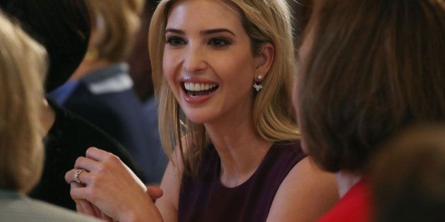 WASHINGTON, DC - MARCH 08: Ivanka Trump attends at a luncheon she was hosting to mark International Women's...