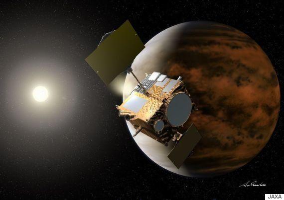 「あかつき」金星の軌道投入に成功 日本初の惑星探査機が5年ぶりにエンジン噴射
