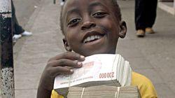 ジンバブエ・ドル、ついに廃止 壮絶なインフレで300000000000000ドル=1円