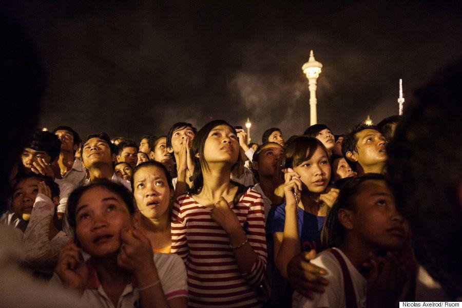 カンボジアの急速な発展の陰に、強制移転で悲しみに暮れる人々の姿がある(画像集)