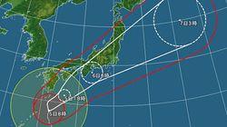 台風18号、各地のピーク 1ヶ月に降る雨量がたった1日で降る所も