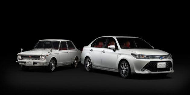 カローラ生誕50年を記念し特別車 初代の「内装」再現【画像集】