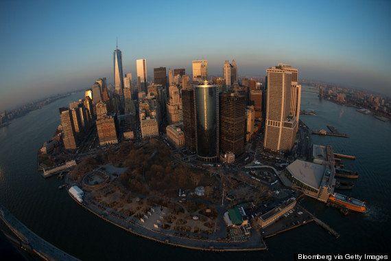 ニューヨークを上空から撮影した美しい写真集