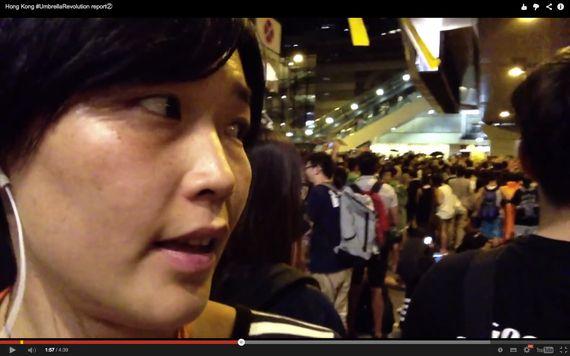【現地ルポ・香港プロテスト②】15歳の少女も参加 続く深夜の攻防