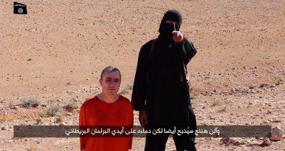 イスラム国、支援活動を行っていたイギリス人男性の殺害映像を公開
