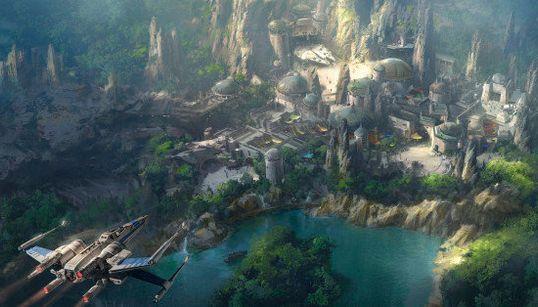 「スター・ウォーズ」ランド ディズニーの新テーマパークはこんな感じ【画像】