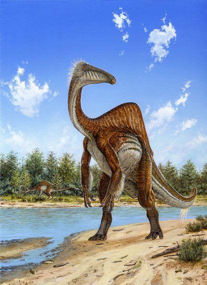 謎の恐竜デイノケイルスの全貌が明らかに