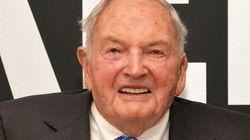 デービッド・ロックフェラー氏死去、101歳 アメリカ大富豪の3代目当主