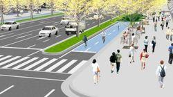 自転車専用道が大阪・御堂筋に メインストリートでも車道を潰す橋下市長の意気込みとは