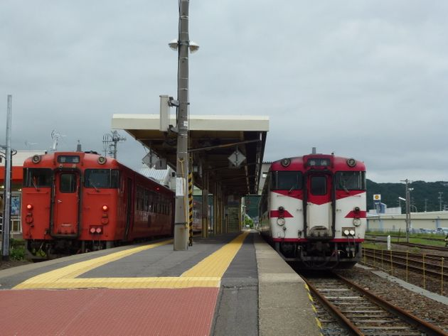『あまちゃん』の北三陸鉄道リアス線こと、三陸鉄道北リアス線一部区間に乗る