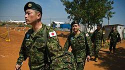 南スーダンPKO、自衛隊員5人が政府軍に連行
