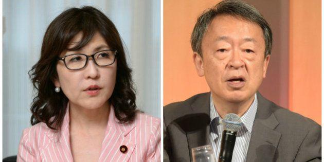 稲田朋美氏、憲法改正は「草案は出してある」の一点張り 池上彰氏の質問に言葉を濁す