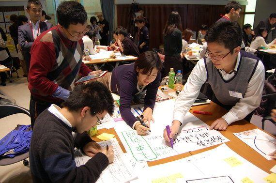 「デザイン思考」を使い、10の社会課題に解決アイデア創出