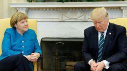 トランプ大統領、メルケル首相と握手を促されるも完全無視 その一部始終をカメラは捉えた(動画)