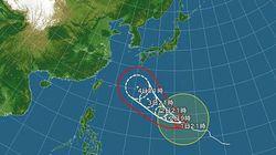 【台風情報】台風18号接近、小笠原諸島と沖縄地方で荒れた天気に