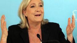 フランスの極右マリーヌ・ルペン国民戦線党首、ドナルド・トランプ氏を支持