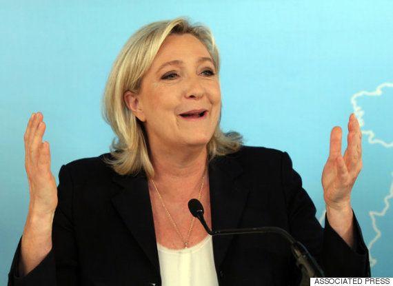 フランスの極右マリーヌ・ルペン国民戦線党首、ドナルド・トランプ氏を ...