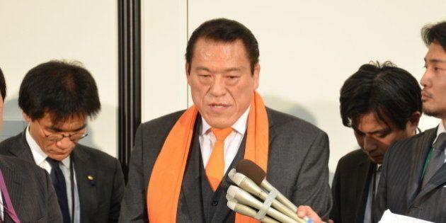 アントニオ猪木氏、北朝鮮から帰国