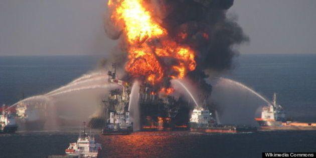 メキシコ湾原油流出:罰金は「23秒で稼げる額」