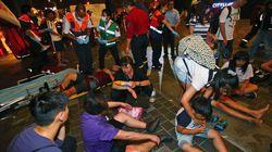 台湾の電車内でテロか?爆発で乗客24人けが