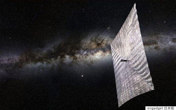 太陽帆の展開に成功 宇宙ヨットと地上の通信トラブルを乗り越える(画像)