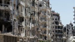 シリア第三の都市ホムスの荒廃した惨状が伝わるツイート写真(画像)