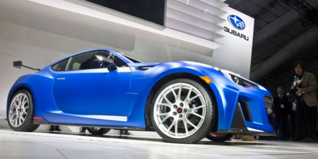 The Subaru Tecnica International (STI) Performance Concept is presented at the New York International...