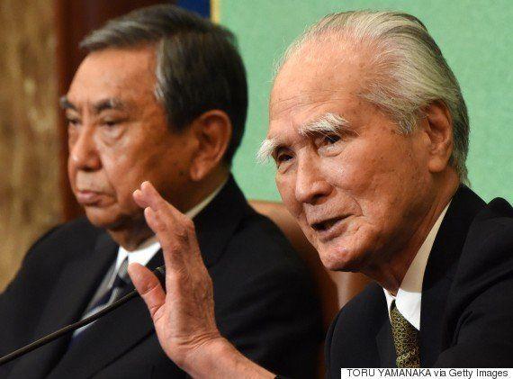 村山富市・元首相、91歳の「眉毛」は、20年の歳月を超越した(画像)