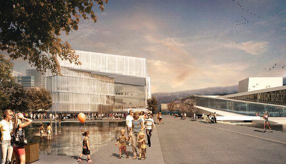 村上春樹氏にオファーの可能性!? 100年後のノルウェー未来の図書館