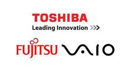 東芝、富士通、VAIOがパソコン事業統合交渉へ