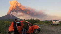 ニカラグアで火山が110年ぶりに噴火(画像集)