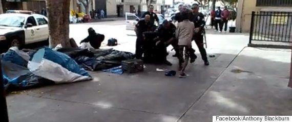 「バトンルージュの動画」の衝撃広がる 白人警官が黒人男性を取り押さえて射殺(閲覧注意)