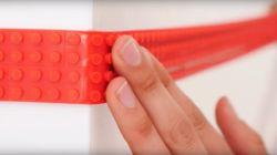 「レゴブロックで使える柔らかいテープ」クラウドファンディングで大人気
