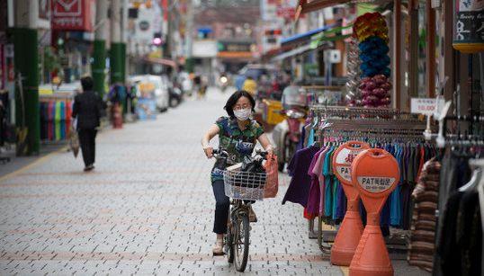 MERS感染者拡大で閑散とした韓国の週末(画像)