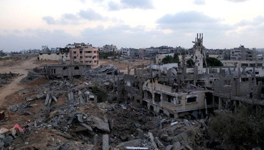 「ガザ停戦は、ただ