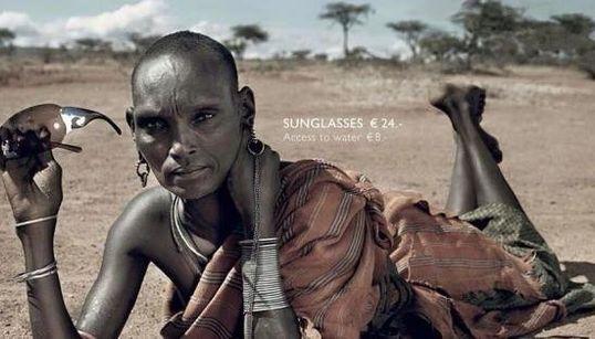 水汲みに12時間 過酷な環境で生きる「ファッションモデル」が伝えることとは(画像)