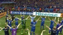 アイスランドのサッカー代表、手拍子の儀式「バイキング・チャント」でも世界を驚かせる(動画)