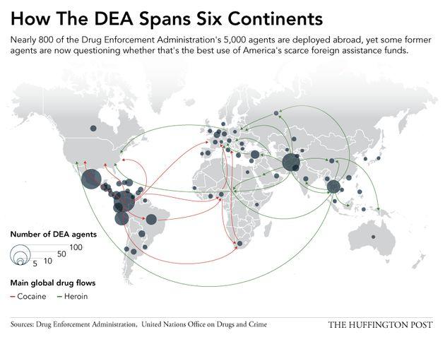 麻薬をめぐる世界戦争、あと40年間はアメリカが敗北する