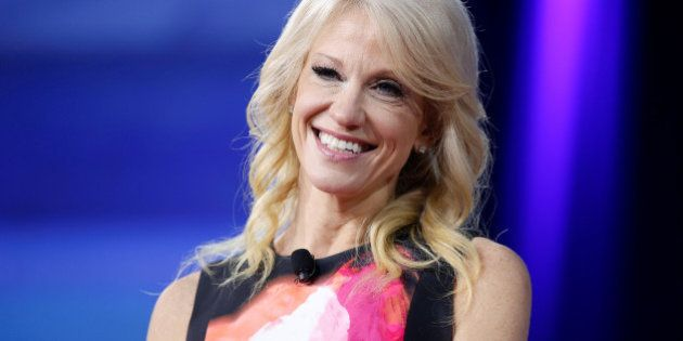 White House Senior Advisor Kellyanne Conway speaks during the Conservative Political Action Conference...