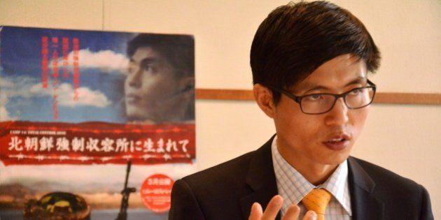 北朝鮮の強制収容所に生まれた男性