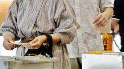 地域に住んでいる有権者の居住年数と投票率の関係をグラフ化すると?