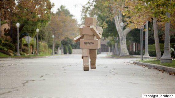 Amazonがアメリカで開始予定の最新ドローン便サービス動画を公開 30分以内に商品をお届け