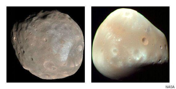 火星に巨大天体が衝突か フォボスとダイモス、誕生の謎が解明される