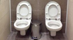 ソチ五輪2014:スタジアムのツイン・トイレがTwitterで話題に